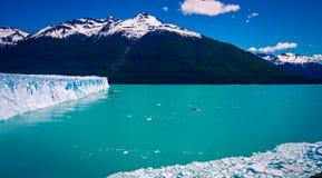 Glacier in el calafate. The Perito Moreno Glacier in El Calafate Argentina stock photography