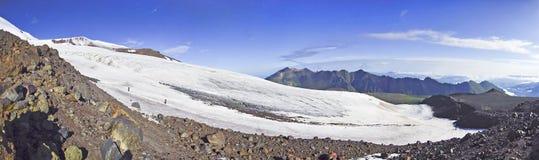 Glacier on Elbrus Stock Photography