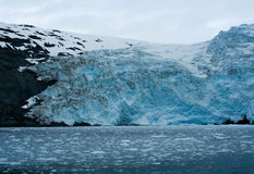 Glacier en Alaska Photo stock