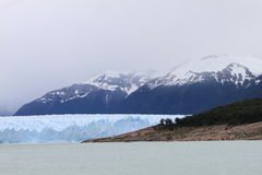 Glacier en Argentine Photos libres de droits