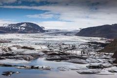 Glacier en Islande Images libres de droits