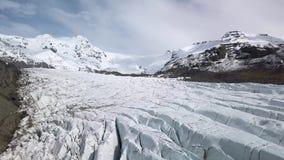 Glacier en Islande banque de vidéos
