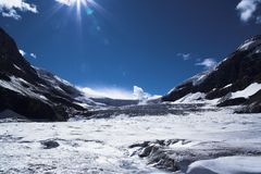 Glacier en jaspe Photo libre de droits
