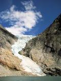 Glacier en Norvège Photographie stock