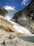 Glacier en Norvège Photo libre de droits
