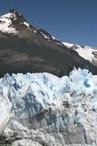 Glacier et montagne Photographie stock