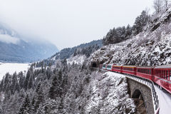 Glacier express, Switzerland Stock Image