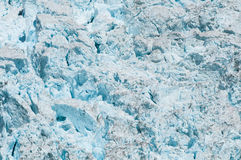 Glacier face Royalty Free Stock Photo