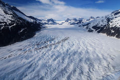 Glacier field Stock Photos