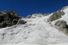 Glacier field Stock Photo