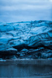 Glacier floating in Iceland and melting Royalty Free Stock Photos