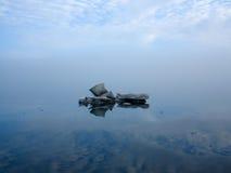 Glacier flottant en air Image stock