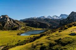 Glacier Formed Landscape stock images