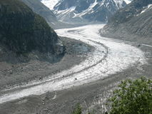 Glacier in France Stock Photography
