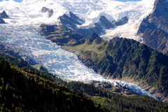 Glacier - French Alps Royalty Free Stock Photos