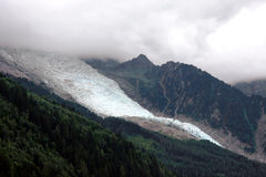 Glacier - French Alps Stock Photography