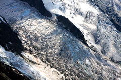 Glacier - French Alps Royalty Free Stock Photos