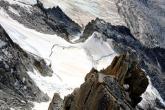 Glacier - French Alps Royalty Free Stock Images