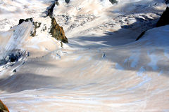 Glacier - French Alps Royalty Free Stock Photography