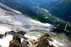 Glacier - French Alps Stock Photos