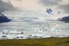Glacier front Royalty Free Stock Photo