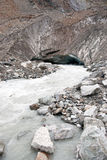 Glacier in Georgia mountain Royalty Free Stock Photos