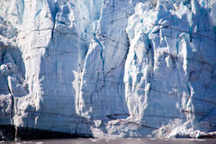 Glacier in Glacier Bay, Alaska Stock Photo