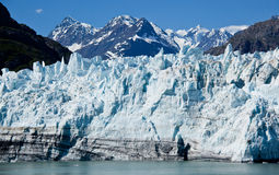Glacier in Glacier Bay, Alaska Stock Photography