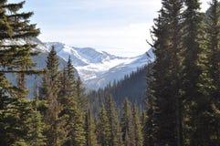 A Glacier in Glacier National Park Stock Photo