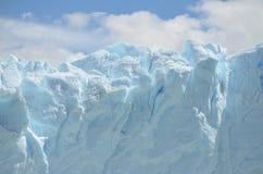 GLACIER AND GLOBAL WARMING PERITO MORENO IN EL CALAFATE PATAGONIA ARGENTINA Stock Photos