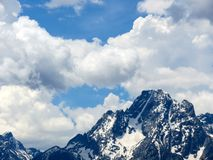 Glacier in the Grand Tetons Royalty Free Stock Image