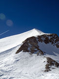 Glacier grande motte Royalty Free Stock Images