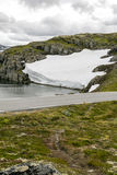 Glacier in the grasslands of southern Norway Stock Photos