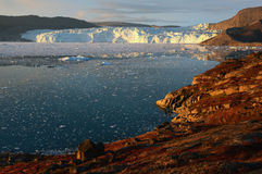 Glacier in Greenland 5 Royalty Free Stock Photos