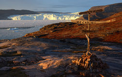 Glacier in Greenland 3 Royalty Free Stock Image