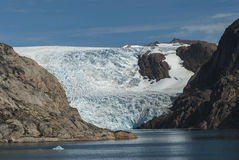 Glacier in Greenland Stock Photos