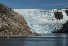 Glacier in Greenland Royalty Free Stock Photos