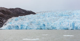 Glacier grey panorama Stock Photography