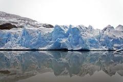 Glacier gris Image libre de droits