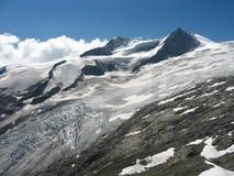 Glacier of grossvenediger Royalty Free Stock Photos
