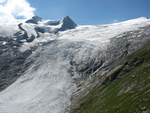 Glacier of grossvenediger Royalty Free Stock Photography