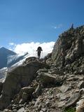 Glacier of grossvenediger Stock Images