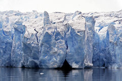 Glacier ice Stock Images