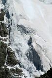 Glacier ice blocks falling Royalty Free Stock Photography