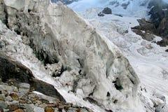 Glacier ice blocks Stock Image