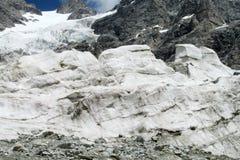 Glacier ice bocks Stock Images