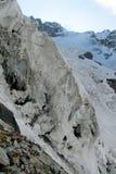 Glacier ice bocks falling Stock Photos