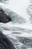 Glacier and Ice Cap. Ice cap of Hamburgsund - Greenland Stock Images