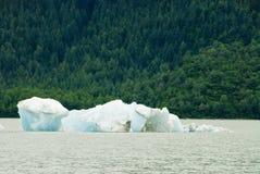 Glacier Ice in Juneau Alaska Stock Photography