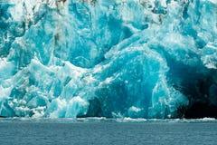 Glacier Ice Kenai Fjords Alaska United States royalty free stock images